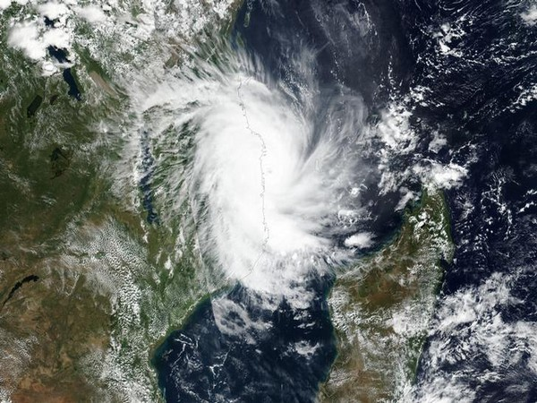 Cyclone Kenneth approached Mozambique's coast on Thursday