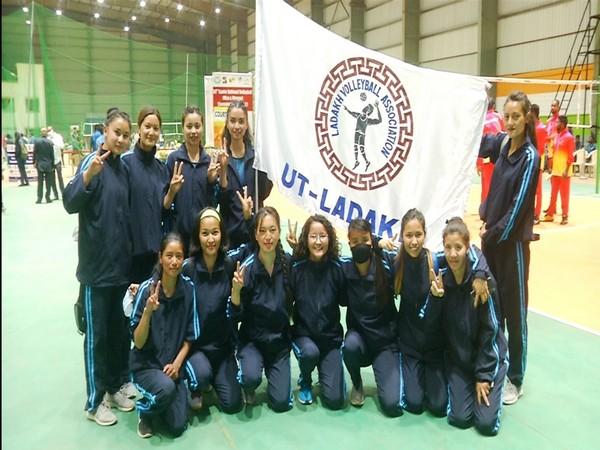Ladakh volleyball women's team