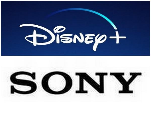 Logos of Disney and Sony