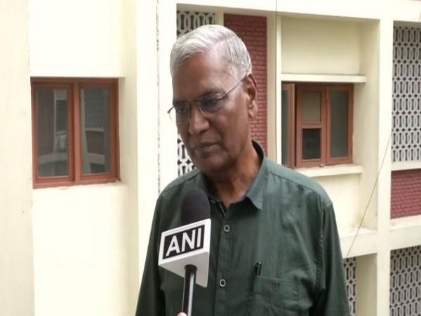 CPI General Secretary D Raja (File photo/ANI)