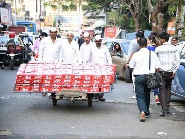 Dabbawalas delivering food in Mumbai. (File photo)