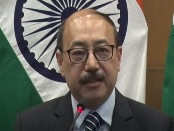 Foreign Secretary Harsh Vardhan Shringla speaking at a special briefing of Ministry of External Affairs (MEA).