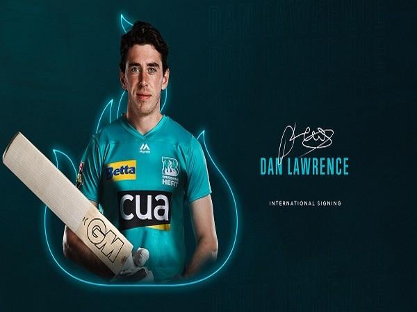 Dan Lawrence (Image: Brisbane Heat's Twitter)