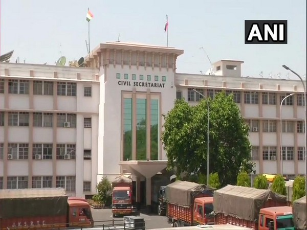 The civil secretariat in Jammu that has been shut for the 'Durbar move of the J-K government. Photo/ANI