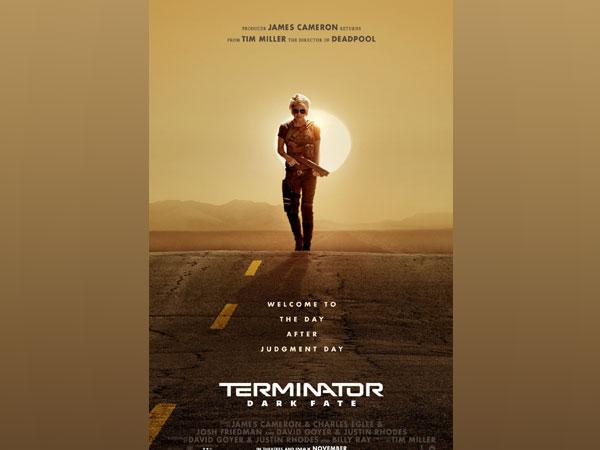 Poster of 'Terminator: Dark Fate', Image courtesy: Instagram
