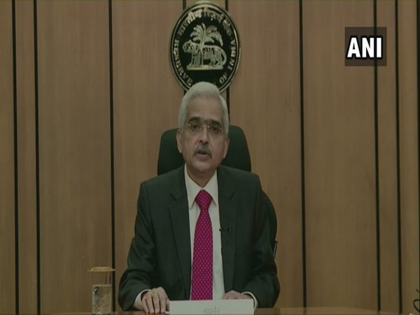 RBI Governor Shaktikanta Das in Mumbai on Friday. [Photo/ANI]