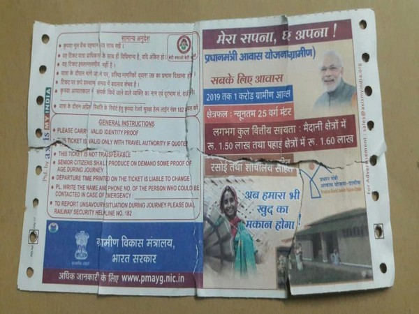 Rail tickets carrying photographs of PM Modi withdrawn