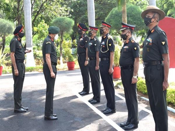 GOC Sudarshan Chakra Corps visited Secunderabad Military Station