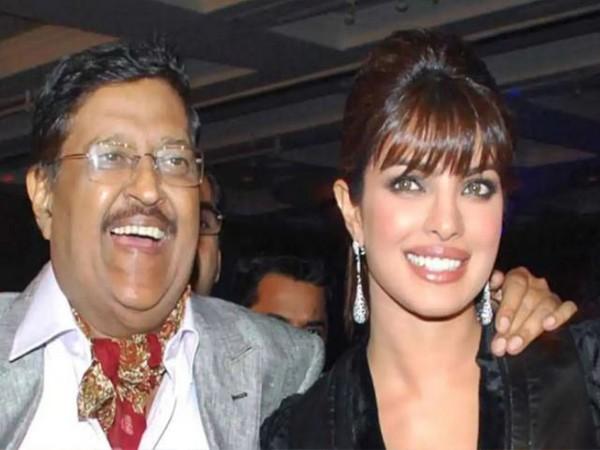 Priyanka Chopra with late father Ashok Chopra (Image source: Instagram)