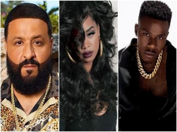 DJ Khaled, H.E.R, DaBaby (Image source: Instagram)