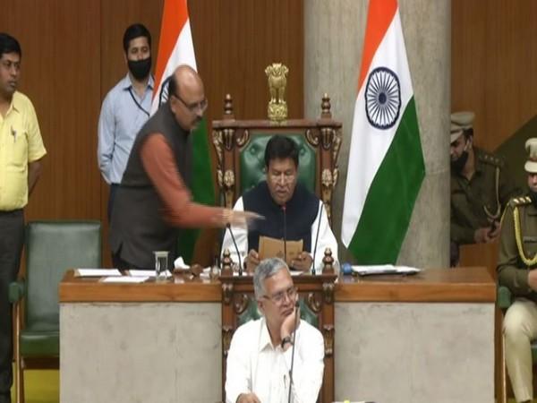 Visuals from Haryana Assembly