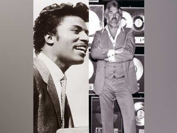 Little Richard and Kenny Rogers (Image Source: Twitter)