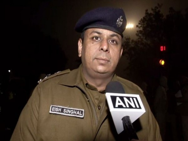 Eish Singhal, DCP New Delhi talking to ANI in New Delhi on Wednesday