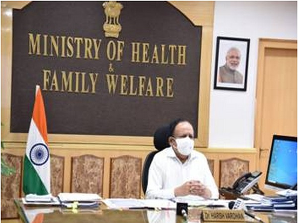 Union Minister of Health and Family Welfare, Dr Harsh Vardhan (photo/ANI)