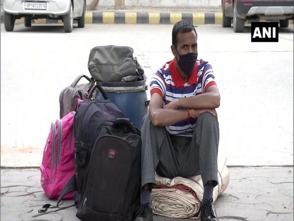 Visual from Delhi's Anand Vihar terminal