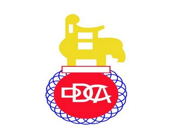 Delhi and District Cricket Association logo.