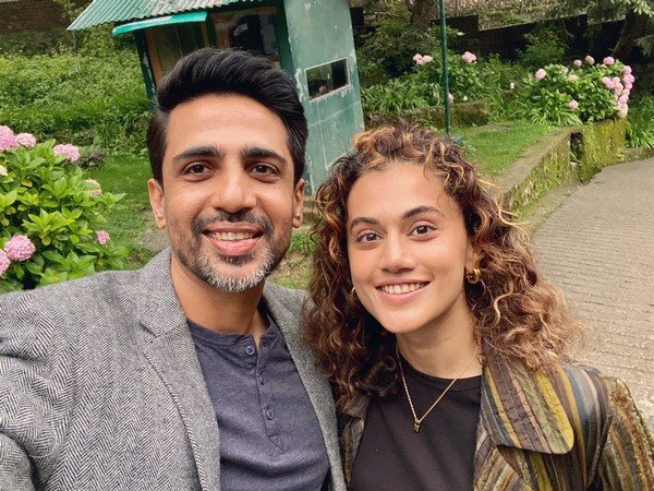 Taapsee Pannu and Gulshan Devaiah (Image Source: Instagram)
