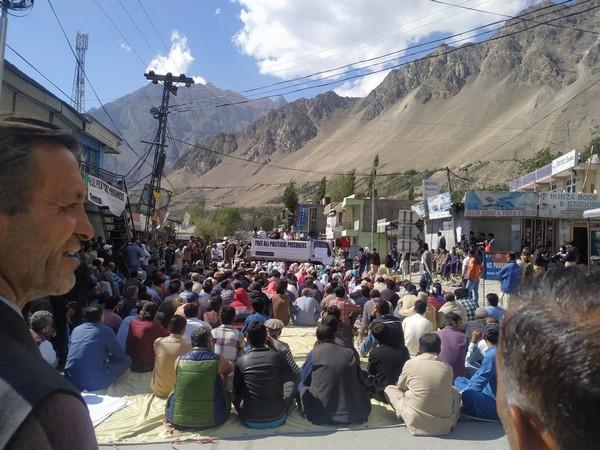 Protests erupt across occupied Gilgit Baltistan