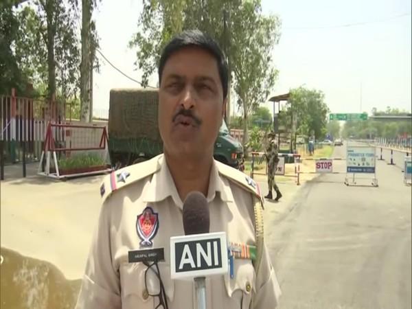 Protocol Officer (Police) Arunpal Singh (Photo/ANI)