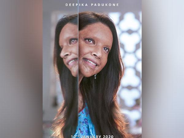 Deepika Padukone's first look from 'Chhapaak', Image courtesy: Instagram