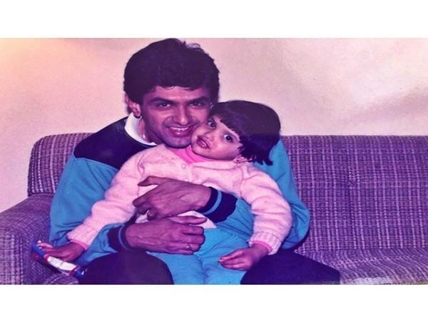 Throwback picture shared by actor Deepika Padukone on father Prakash Padukone's birthday (Image source: Instagram)
