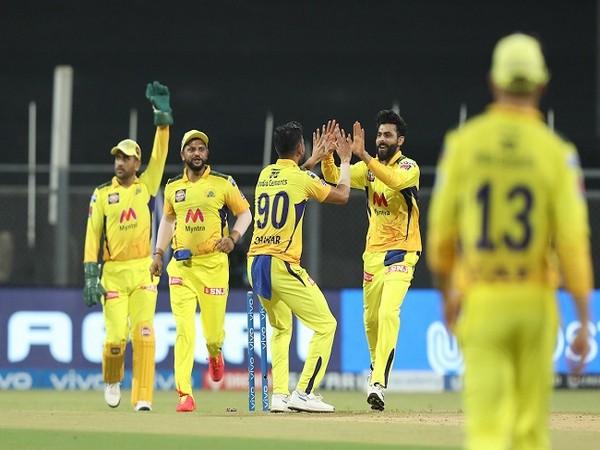 CSK bowler Deepak Chahar picked four wickets against Punjab Kings (Image: BCCI/IPL)