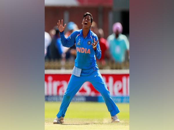 Indian bowler Deepti Sharma