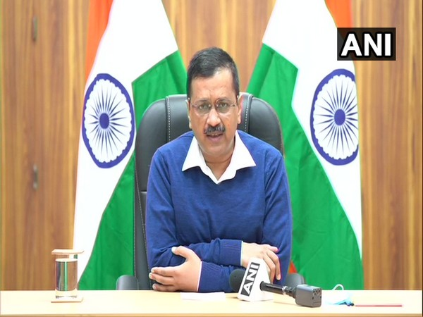 Chief Minister Arvind Kejriwal addressing a press conference in New Delhi on Thursday. [Photo/ANI]