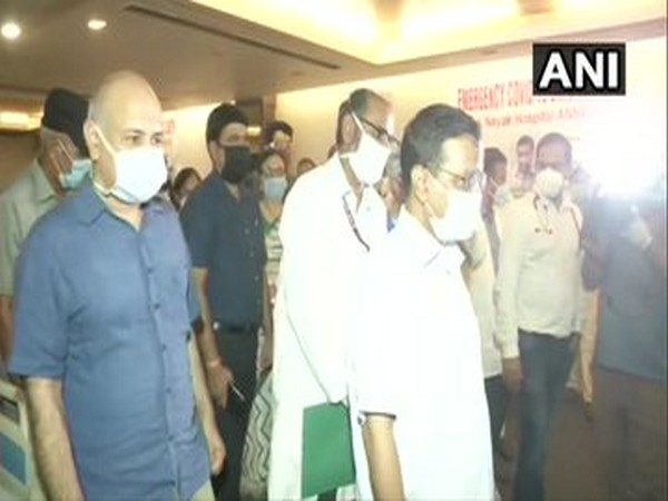 Delhi Chief Minister Arvind Kejriwal on Wednesday visited Shehnai Banquet Hall.
