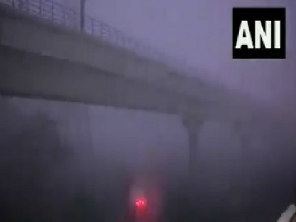 A visual of fog in New Delhi on Wednesday.