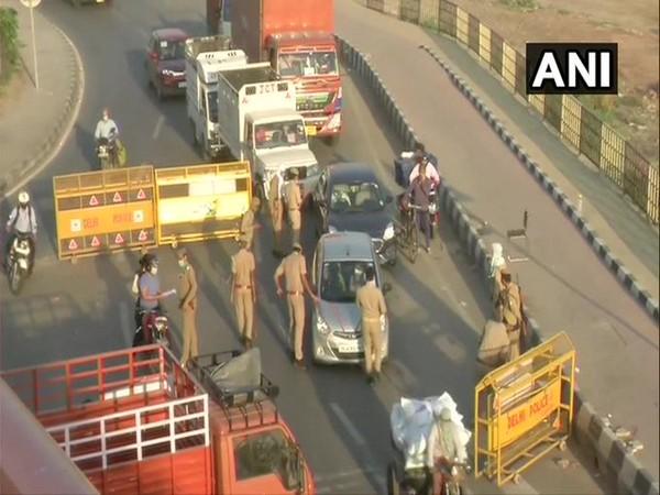 Police are conducting checking at Delhi-Ghaziabad border. (File photo)