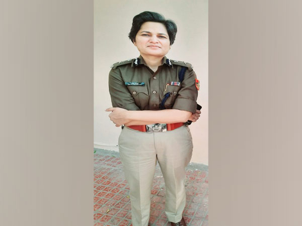 Traffic Joint Commissioner of Delhi Traffic Police Meenu Choudhary (Photo/ ANI)
