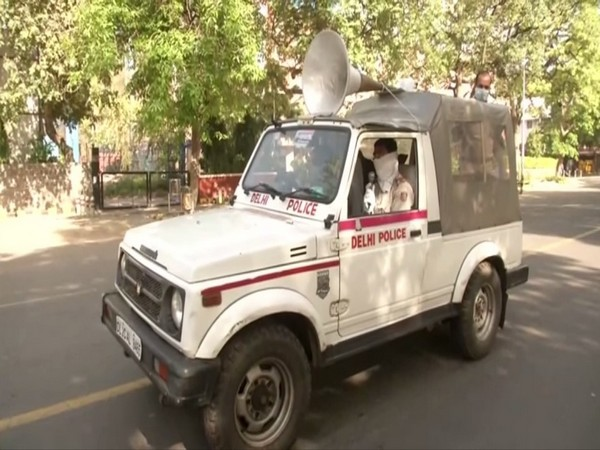 Delhi Police at Bengali Market (File photo)