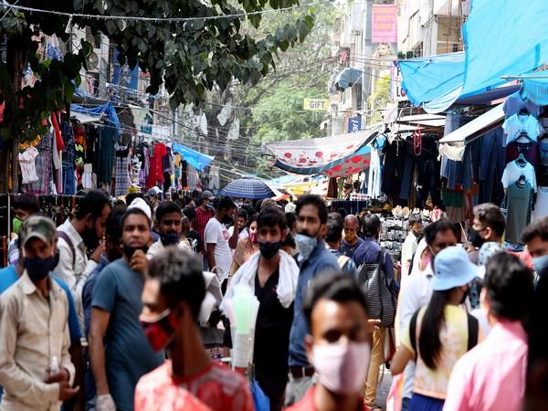 Visuals from Sarojini Nagar market in New Delhi