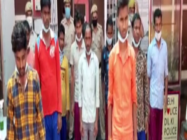 Based on statements by the children, a case was registered and the 10 accused were arrested. (Photo: ANI)
