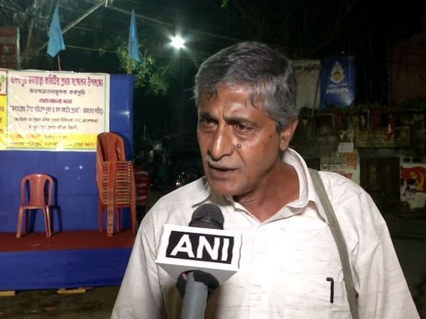 Debashish Mukherjee, while speaking to ANI on Monday claimed 72 cases being registered of dengue in KMC in West bengal. Photo/ANI