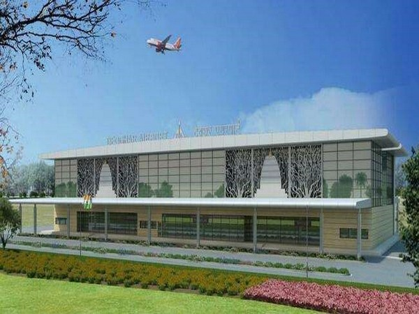 Deogarh Airport is being developed at the project cost of Rs 401.34 crores.