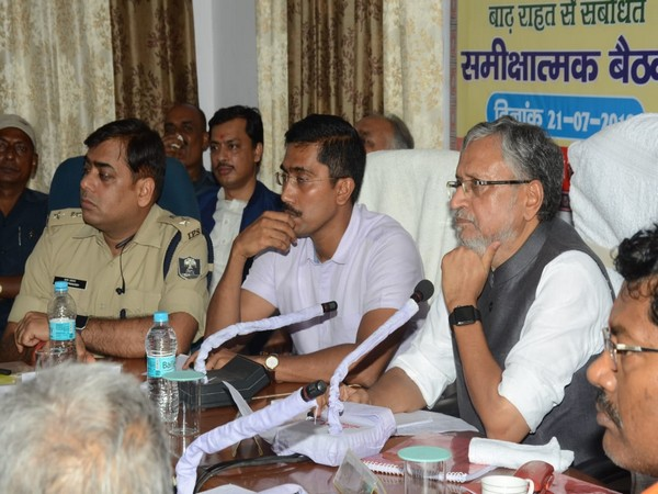 Sushil Modi holds review meeting (Source: Twitter)
