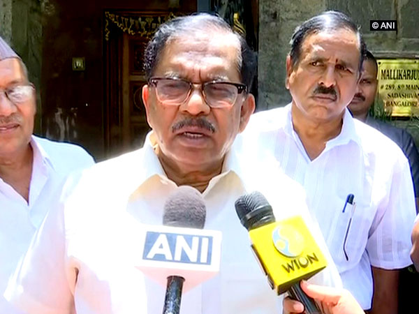Karnataka Deputy Chief Minister G Parameshwara talking about the protests against construction of elevated corridor in Bengaluru