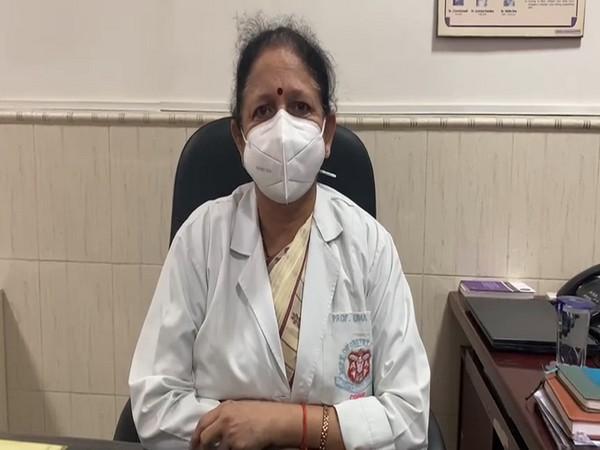 Professor Uma Singh, Head of Department, Obstetrics and Gynaecology, KGMU (Photo/ANI)