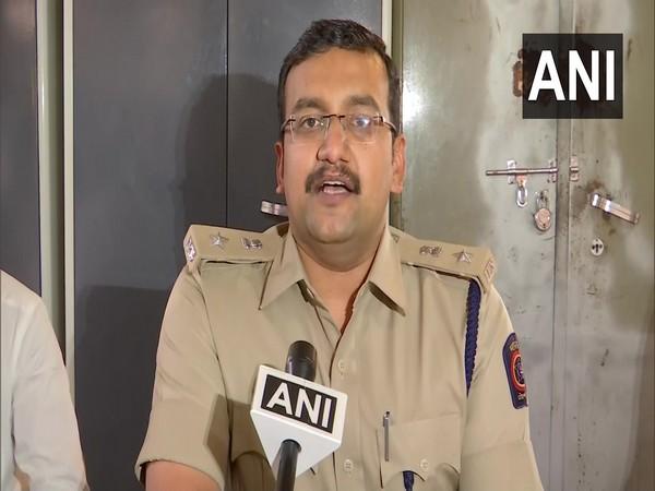 Pankaj Deshmukh, Deputy Commissioner of Police (Zone 4), Pune speaking to ANI on Monday. (Photo/ANI)