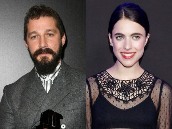 Shia LaBeouf with Margaret Qualley