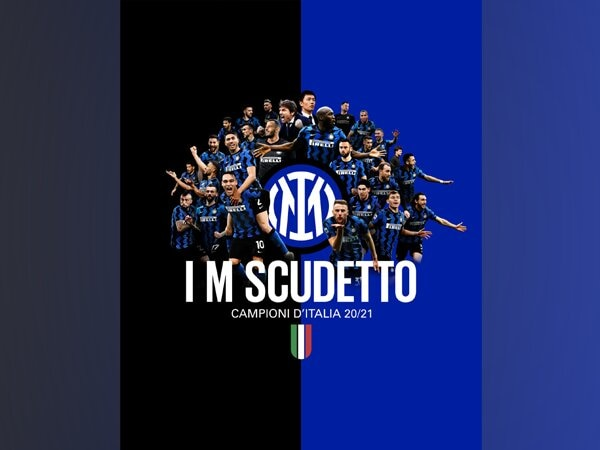 Inter Milan crowned Serie A champions (Photo/ Inter Milan Twitter)