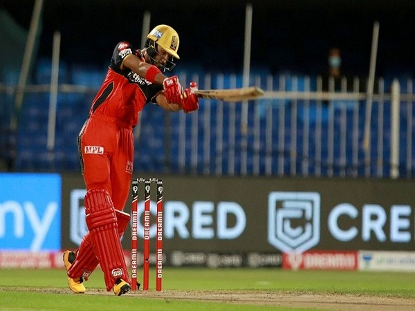 RCB batsman Devdutt Padikkal  plays a shot during match (Image: BCCI/IPL)