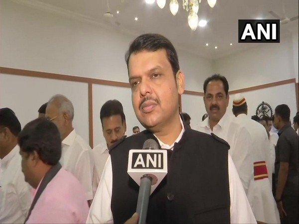 Devendra Fadnavis speaking to ANI after taking oath as Chief Minister of Maharashtra on Saturday.