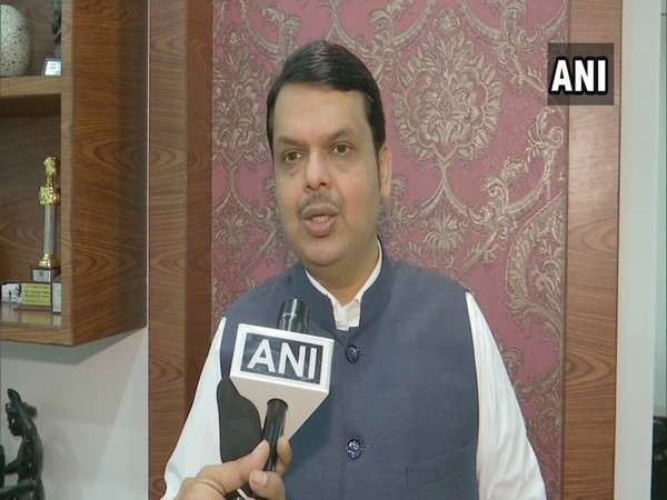 Maharashtra Chief Minister Devendra Fadnavis speaking to ANI.