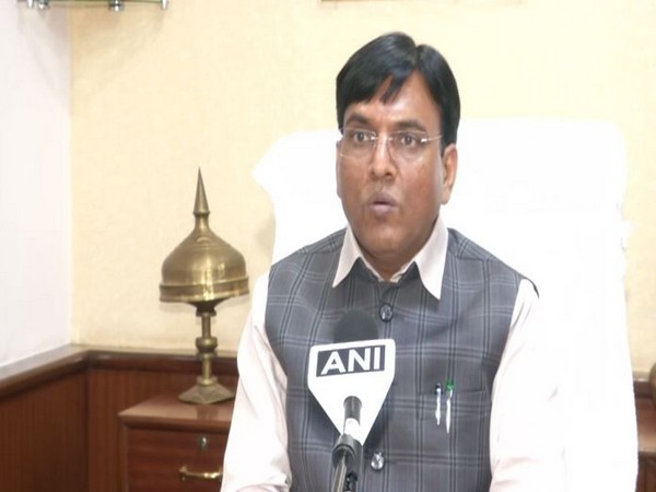 Union Minister for Ports, Shipping and Waterways Mansukh Mandaviya (Photo/ANI)