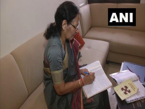 67-year-old Usha Lodaya from Gujarat earned her PhD (ANI)