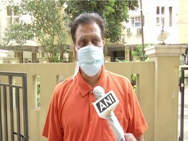 Telangana BJP leader NV Subhash (Photo/ANI)