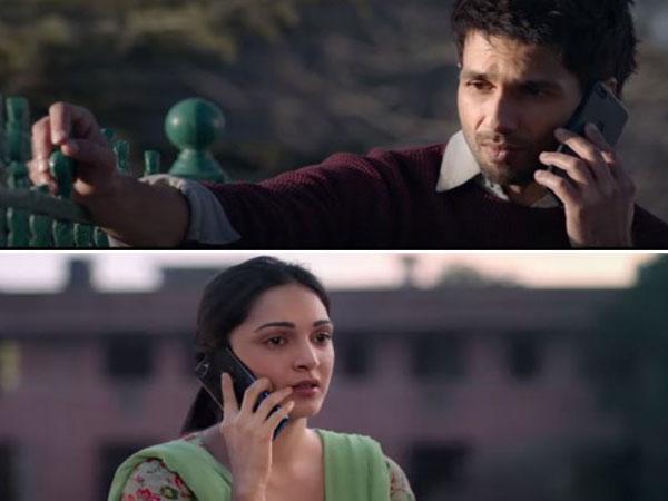 Stills from the song from 'Kabir Singh'